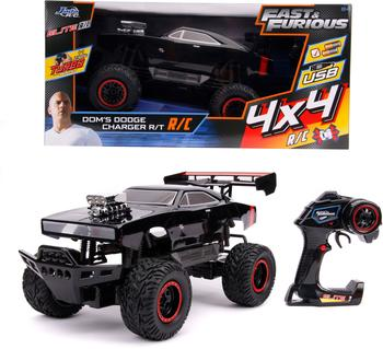 Jada RC-Monstertruck Fast & Furios, Doms Dodge Charger R/T