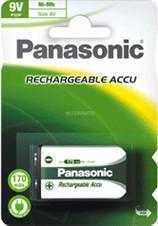 Panasonic 2116 Akku P22 9V 170mAh