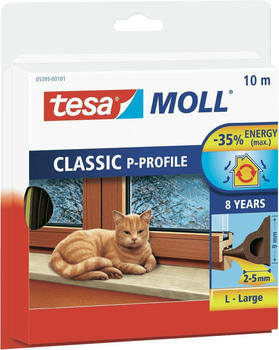 Tesa tesamoll Classic P-Profile 10 m x 9 mm