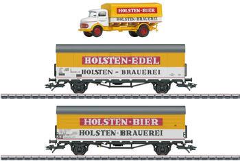 Märklin Bierkühlwagen-Set Holsten (M46172)