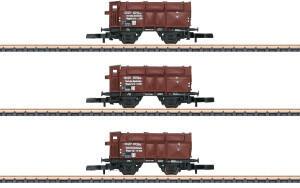 Märklin 086010 Klappdeckelwagen K Wuppertal der DRG, 3er-Set