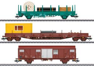 Märklin 049956 Dienstwagen der SNCB B-Cargo, 3er-Set