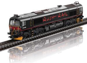 Trix T22997 Diesellokomotive Class 66 der RushRail, Schweden