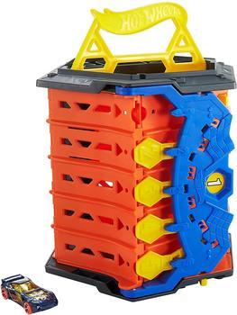 HOT WHEELS Autorennbahn 2in1 Spielset & Box, inkl. 1 Spielzeugauto