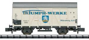 Trix MiniTrix T15398 N Ged.Güterwagen Triumph-Werke der DB