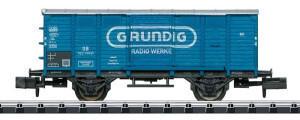 Trix MiniTrix T15397 N Ged.Güterwagen Grundig der DB