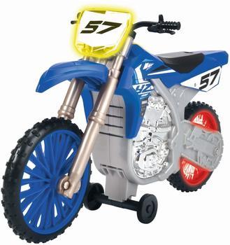 DICKIE TOYS Yamaha YZ, Wheelie Raiders, mit Motorisierung Spielzeugauto Blau