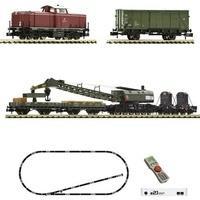 Fleischmann 931899 N z21start DigitalSet Diesellok BR 212 mit Bauzug der DB