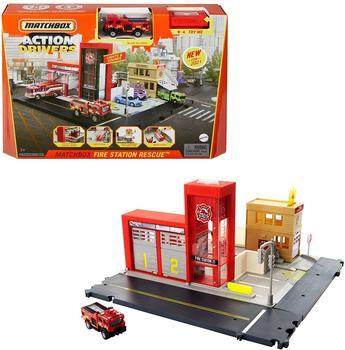 Mattel HBD76 Matchbox Fire Station