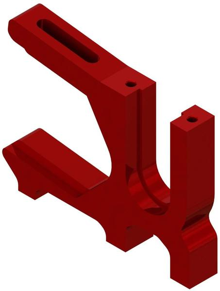 Arrma ARA320468 Gleitende Motorhalterung Rot