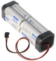 Sanyo) Sender Akku Panasonic eneloop Standard AA 8er Würfel 9,6 2000 mit Kabel und Graupner Stecker