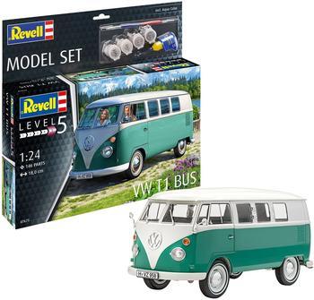 REVELL Model Set VW T1 Bus Modellbauspielzeugauto, Mehrfarbig