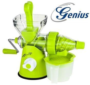 Genius Slow Juicer Obst- und Gemüsepresse grün