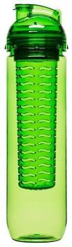 Sagaform Trinkflasche mit Früchteeinsat grün 0,8 l