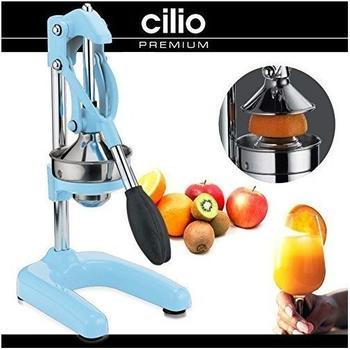 Cilio Profi-Saftpresse pastell blau 309188