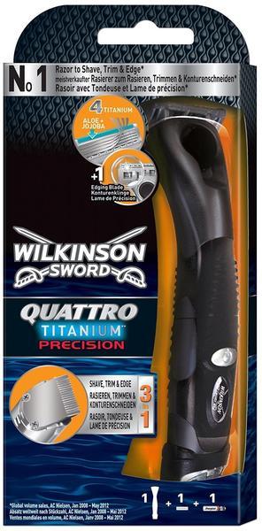 Wilkinson Quattro Titanium Precision