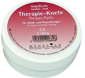 Medesign Therapieknete Medium Korallrot (100 g)