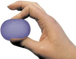 Sissel Press Ball blau mittel (2181)