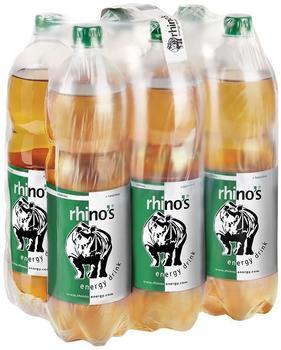 Rhinos Energy Drink Classic 6x1500 ml