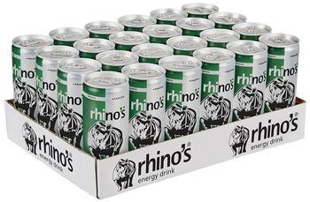 rhinos energy Classic 24x250 ml