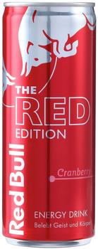 Red Bull Energy Drink Red Edition Cranberry 12x250 ml