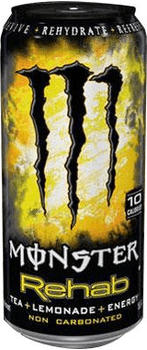 Monster Rehab Lemon 500 ml