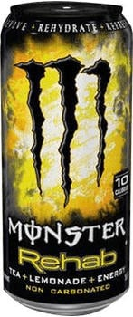 Monster Rehab Tea+Lemonade+Energy 0,5l