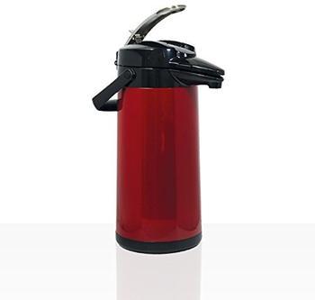 Bravilor Bonamat Airpot Furento mit Glaskern 2,2 l rot