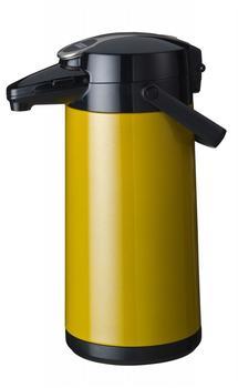 Bravilor Bonamat Airpot Furento mit Edelstahl-Einsatz 2,2 l gelb