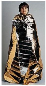 Holthaus Rettungsdecke Ypsisave Gold/silber 160 x 210 cm