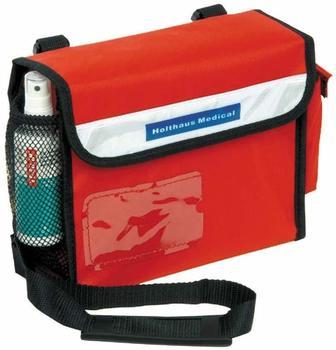 Holthaus Sanitätsumhängetasche Erste Hilfe Tasche, Notfall, befüllt Din 13160, 24x19x8cm