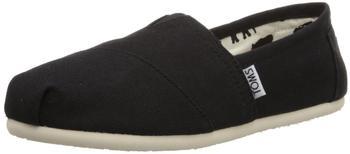 Toms Shoes Classic Alpargatas Women black/black