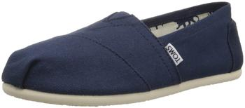 Toms Shoes Classic Alpargatas Women navy