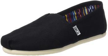 Toms Shoes Classic Alpargatas Women (10000869) black