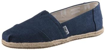 Toms Shoes Classic Alpargatas Women navy washed