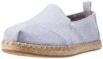 Toms Shoes Deconstructed Alpargata Women drizzle grey/slub chambray