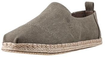 Toms Shoes Deconstructed Alpargata Men olive washed canvas