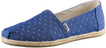 Toms Shoes Classic Alpargatas Women blue/imp blu