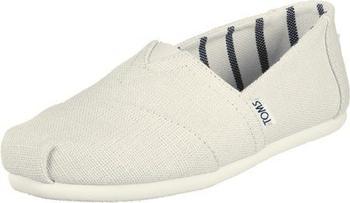 Toms Shoes Classic Alpargatas Women antique white