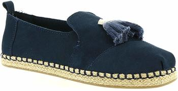 Toms Shoes Deconstructed Alpargata Rope Women navy suede/tassel