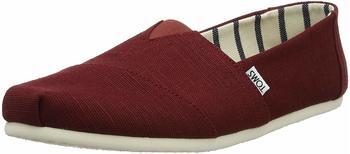Toms Shoes Alpargata Classic Men black cherry