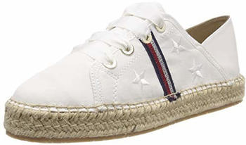 Tommy Hilfiger Lace-Up Espadrilles (FW0FW03801) whisper white