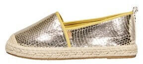 Only ONLEVA STRUCTURE ESPADRILLOS (15194106) gold colour
