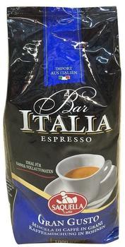 Saquella Bar Italia Gran Gusto Bohnen (1 kg)