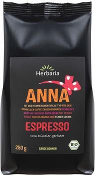 Herbaria Anna Espresso ganz bio 250g