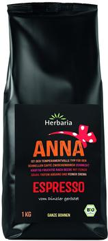 Herbaria Espresso ganze Bohne BIO, 1kg