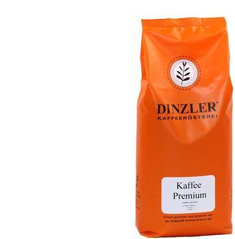 Dinzler Kaffeerösterei Kaffee Premium ganze Bohne (1kg)