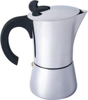 Relags Espressomaker Edelstahl 4 Tassen