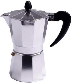 HTI-Living Espressokocher für 6 Tassen Silber