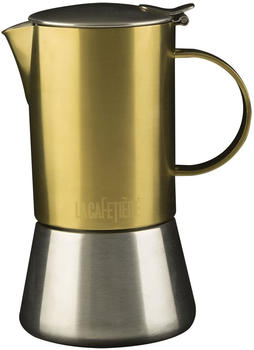La Cafetiere Edited Stovetop 4-Cup Espresso Maker, brushed gold